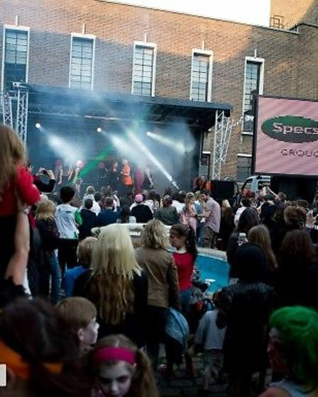 The main stage at the Crouch End Festival. Picture: Crouch End Festival