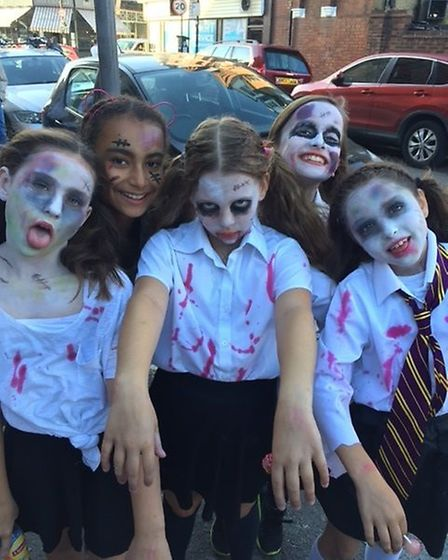 Crouch End Festival's zombie walk. Picture: BEX SALMON