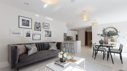 One of the show homes at Highgate Court