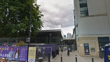 Lecturers' strike hits Hackney Community College in Hoxton. Picture source: Google