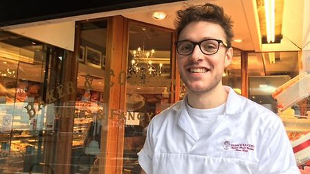 Lewis Freeman of Dunn's bakery in Crouch End