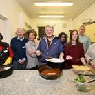 The Hackney Winter Night Shelter team at Our Lady of Good Counsel in Bouverie Road, Stoke Newington,
