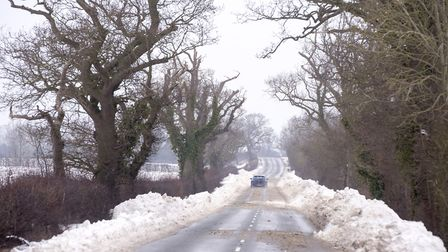Snow and ice is thawing, but Norfolk police urged drivers to continue to be cautious.Picture: Nick Butcher