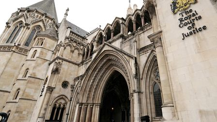 The High Court on the Strand, where two senior judges this morning quashed Mary Hassell's 'cab rank'