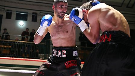 Light welterweight Siar Ozgul (pic: Natalie Mayhew/Butterfly Boxing)