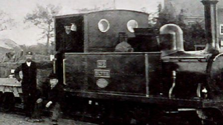 The Heritage Train as ran in 1879 Southwold Railway.