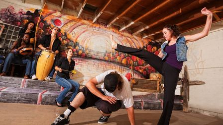 Free capoeira training is going to be available at Morningside Community Centre. Picture: Sanctuary