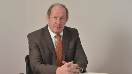Suffolk Police and Crime Commissioner, Tim Passmore is working with police to tackle rises in domest