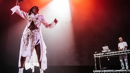 Kelela at All Points East in Victoria Park. Picture: Jordan Curtis Hughes