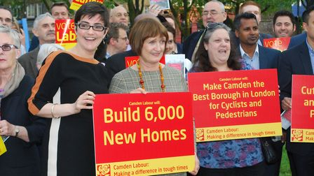 Former Council leader launches Camden Labour's 2014 election manifesto alongside the late-Dame Tessa
