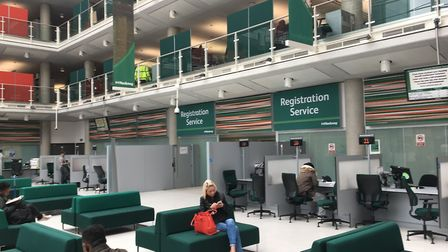 The registration services team are threatening to go on strike