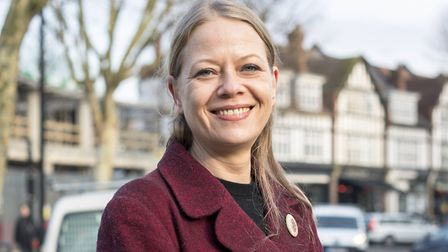 Councillor Sian Berry is standing again in Highgate ward for the Green Party Picture: Green Party