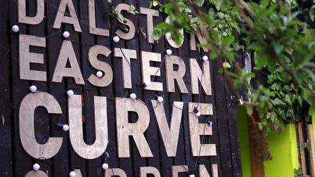 Dalston Eastern Curve Garden in Dalston Lane. Picture: Donald Judge/Flickr/Creative Commons licence