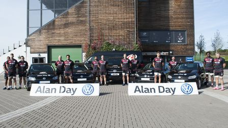 Saracens have signed a new sponsorship deal with Alan Day Volkswagen