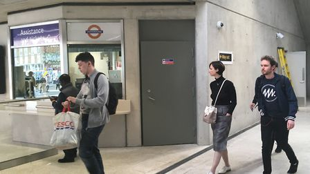 Passengers get to grips with the new station. Picture: Francesca Fazey
