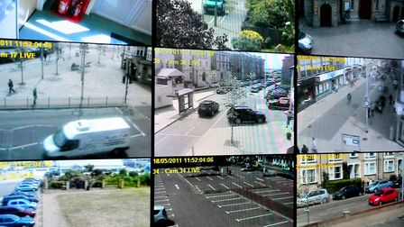 The new CCTV system for Waveney was unveiled in 2011.