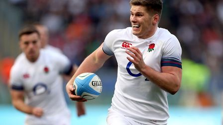 Saracens' Owen Farrell was among England's try scorers in their loss to South Africa (pic Steven Pas