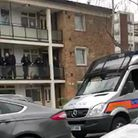 Armed police raided the wrong flat on the Campsbourne Estate in Hornsey