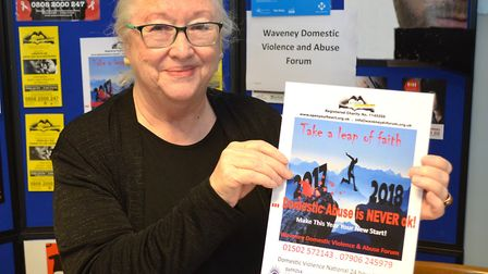 The Waveney Domestic Violence and Abuse Forum has launched a new poster campaign. Picture: Mick Howe