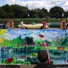 Children take part in Picture the Heath 2017. Picture: Hampstead School of Art