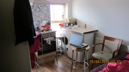 An example of one of the flats let out by Andreas Lytras in Crouch End. Picture: Haringey Council