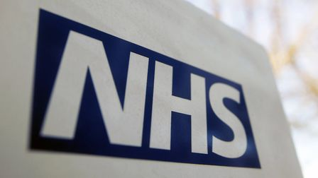 A file image of an NHS sign. Haringey CCG was censured by the Equalities and Human Rights Commission