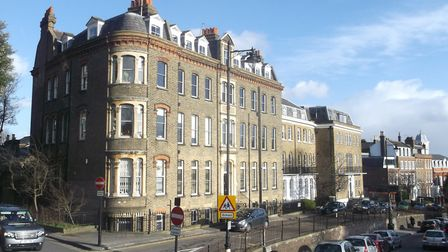 Channing School at the corner of Cholmeley Park and The Bank, Highgate. Picture: David Anstiss/Geogr
