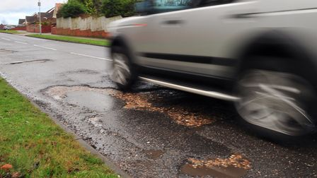 Highways engineers are expecting more potholes to develop. Picture: SARAH LUCY BROWN