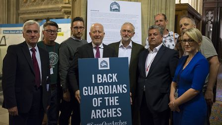 Senior Labour MPs attended the meeting and signed the letter to Chris Grayling. Picture: Sarah Ainsl