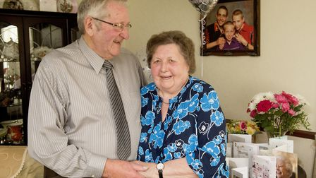 Diamond wedding anniversary couple Ronnie and June Chandler are celebrating 60 years of marriage. P