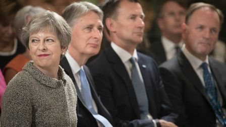 Prime Minister Theresa May, Chancellor Philip Hammond, Health Secretary Jeremy Hunt and NHS Chief Ex