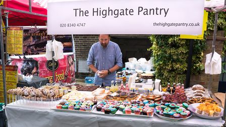 The Highgate Pantry stall