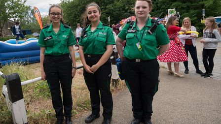 St John's Ambulance at the event