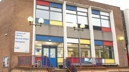 The record office is based at Lowestoft Library.Picture: Nick Butcher.