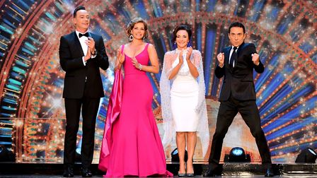 Strictly Come Dancing judges Craig Revel-Horwood, Darcey Bussell, Shirley Ballas and Bruno Tonioli.