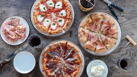 The one-off pizzas at Radio Alice