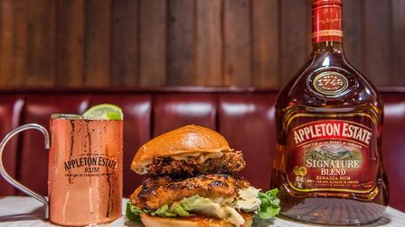 Experience the Patty and Rum until the end of the month. Picture: Nic Crilly-Hargrave