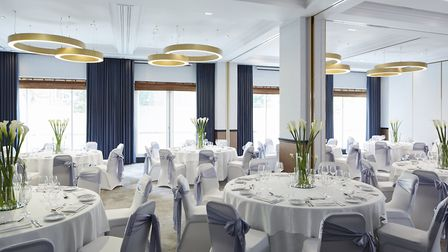 The newly refurbished Westbourne room, named after the subterranean Hampstead river