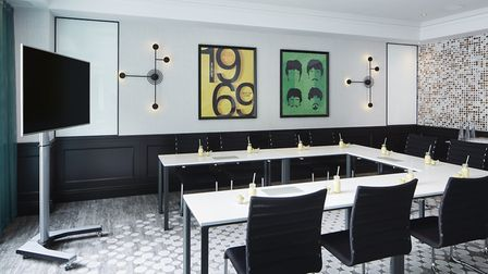 The Tollgate function room at the London Marriott Hotel Maida Vale