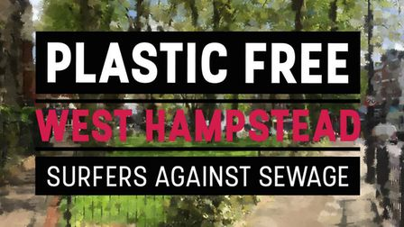 Plastic Free West Hampstead's logo. Picture: Melanie Viner-Cuneo