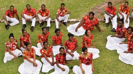The National Youth Choir of Antigua and Barbuda.