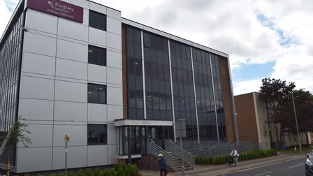 Kingsley Healthcare's offices in Clapham Road South, Lowestoft. Picture: Archant library.