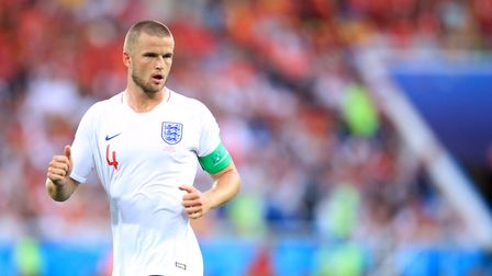 England's Eric Dier during the FIFA World Cup Group G match against Belgium (pic: Adam Davy/PA Image