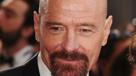 Bryan Cranston, who plays Walter White in Breaking Bad. Picture Ian West/PA Archive