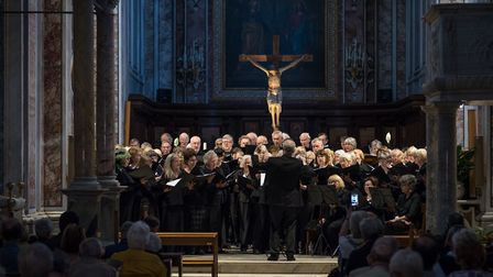 Highgate Choral Society in Sorrento Cathedral