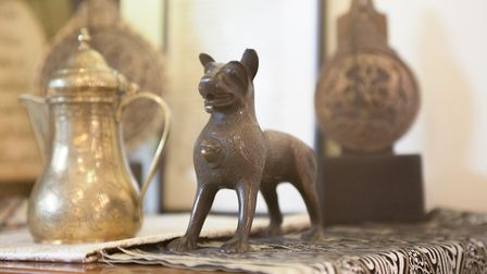 AlFayez will be home to a comprehensive catalogie of Middle Eastern antiquities, ceramics, glass, je