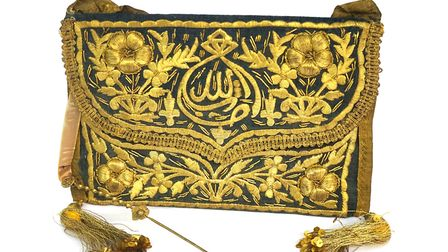 An Ottoman Empire Quran cover, one of the many antique items at Alfies new dedicated Middle Eastern