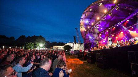 Fans delight in live music's return to Kenwood. Picture: Rupert Frere, Schmooly Photography