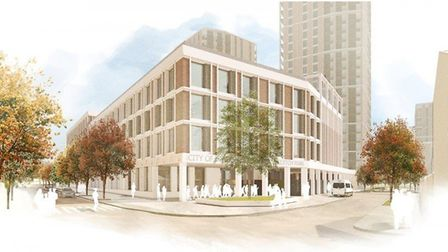 How the new school could look. Picture: Hackney Council