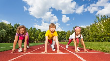 Dwain Chambers is launching Mini Racers to get youngsters interested in athletics at Lee Valley (pic